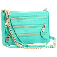 Rebecca Minkoff Mini 5 Zip Clutch - designer shoes, handbags, jewelry, watches, and fashion accessories | endless.com