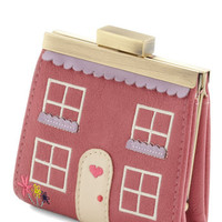 House Fund Wallet in Rose