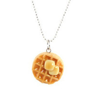 Scented Waffle Necklace
