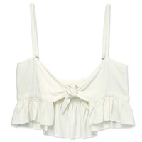 Stone Cold Fox Quixote Crop Top - White Crop Top - ShopBAZAAR
