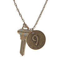 Bates Motel Number Nine Key Necklace