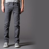 [True Grit] Slim Jeans in Grey is the New Black