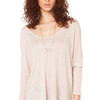 Off The Shoulder Cover Up in Taupe