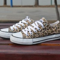 2014 Low to Help Leopard Shoes Shoes