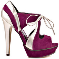 Michael Antonio's Multi-Color Kambria - Plum VL for 74.99 direct from heels.com