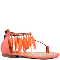 2 Lips Too's Orange Too Parrot - Coral for 49.99 direct from heels.com