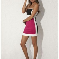 COLORBLOCK TUBE DRESS | Body Central