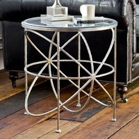 Silver Orbit Table
