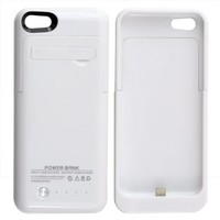 Citra 2200mAh External Battery Case Power Bank for iPhone 5 iPhone 5S iPhone 5C (White)