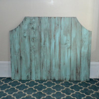 The Little Atlas - Wooden Distressed Headboard