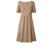 Orla Kiely - Baby Rhino Cotton Blend Short Sleeve Dress