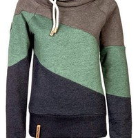 MODE THE WORLD: Naketano Comfy Tri Colored Hoodie