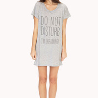 Do Not Disturb Sleep Shirt
