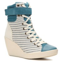 Nine West Original Sneakers Women&#x27;s Perri Wedge Sneaker - DSW