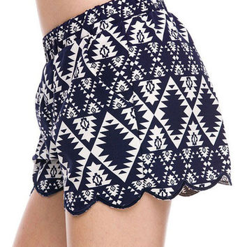 Saranda Shorts - Navy | ZOE Boutique