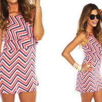 Furor Moda - Zig Zag Dreams Dress