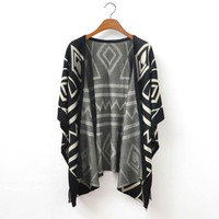 Shawl Loose Sweater Coat