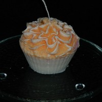A Set of 4 Handmade and Deliciously Scented Cupcake Candles
