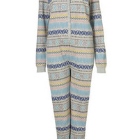 Aztec All In One - Lingerie & Nightwear  - Clothing  - Topshop