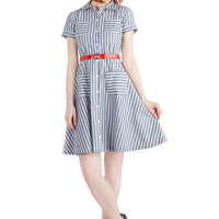 Brand New Bookstore Dress | Mod Retro Vintage Dresses | ModCloth.com