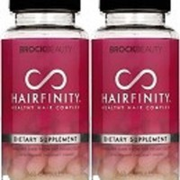 2 Months Hairfinity Vitamins Healthy Hair Rapid Long Hair Growth