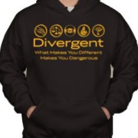 Divergent What Makes You Different Makes You Dangerous Hoodie Sweater