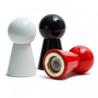 Knuff salt and pepper mill, red