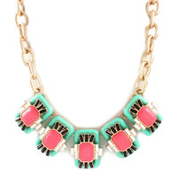 Pre-Order: World Traveler Necklace - Mint