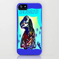 DACHSHUND iPhone & iPod Case by Adka