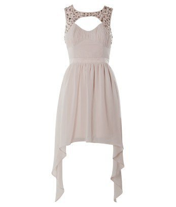 Lipsy Embellished Yoke Dress - Lipsy