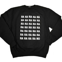 21 Century Clothing Unisex Adult Ha No Sweatshirt