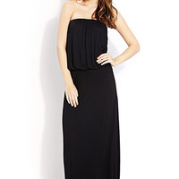 Flounced Maxi Dress