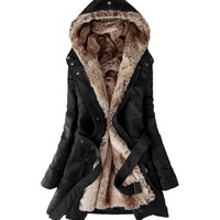 Rabbit Rachel Women Faux Fur Warm Win...