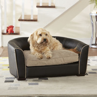 Enchanted Home Pet Ultra Plush Remy Dog Sofa