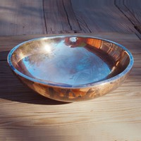 The Future Perfect - Ovoid Bowl, Patinated - Objects
