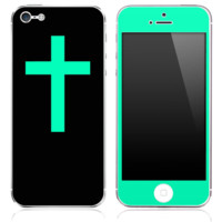 iPhone 5c cross skins