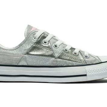 Converse Women's Chuck Taylor Sparkle Patch Ox Sneakers