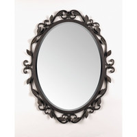 "Quoizel 30"" Englewood Wall Mirror in Imperial Bronze"