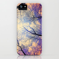 Snow Angel's View - Nature's Painting (color 2) iPhone & iPod Case by soaring anchor designs ⚓