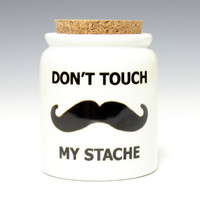 Large Stache Jar Hedcraft Glassworks by Hedcraft on Etsy