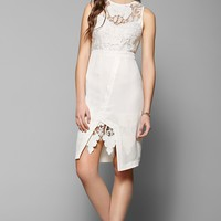 Stylestalker Engine Lace-Inset Dress - Urban Outfitters