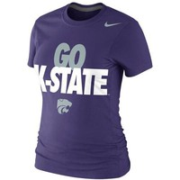 Nike Kansas State Wildcats Ladies Go K-State 2013 Local T-Shirt - Purple