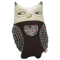 Owl Cuddle Pillow