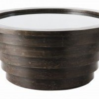 ARTERIORS Home Sutton Accent Table in Distressed Dark Walnut - 2462 - Accent Tables - Decor