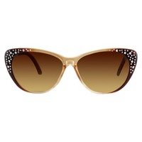 Women's Xhilaration® Cateye Sunglasses- Brown