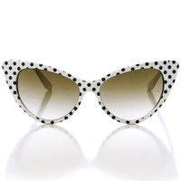 Dottie Sunglasses in Marshmallow