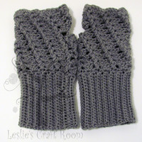 Twisted Fingerless Gloves