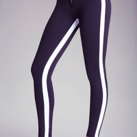 Colorblock Zip Leggings