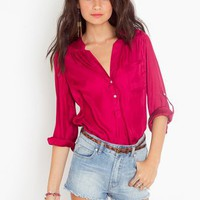 Berry Blouse in Clothes Tops at Nasty Gal