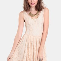 No Peeking Lace Dress